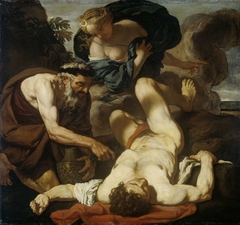 Selene and Endymion (formerly entitled The Death of Orion)