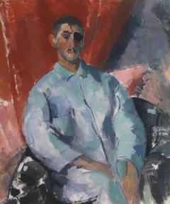 Self-Portrait in a Black Eyepatch