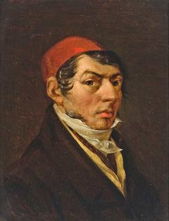 Self-portrait of Jonas Rustemas