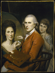 Self-Portrait with Angelica and Portrait of Rachel