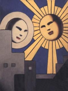 Serie Soles y Lunas. Sol y Luna X