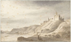 Slot Rheinfels bij St. Goar aan de Rijn