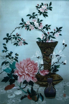 Still Life, Vase and Flowers