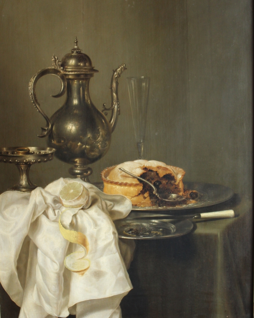 Still Life with a Silver Pitcher and Pie