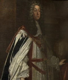 Supposed to be Charles Boyle, 3rd Earl of Cork and 2nd Earl of Burlington (c.1662-1704) in Garter Robes