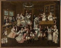 Tavern scene – On top