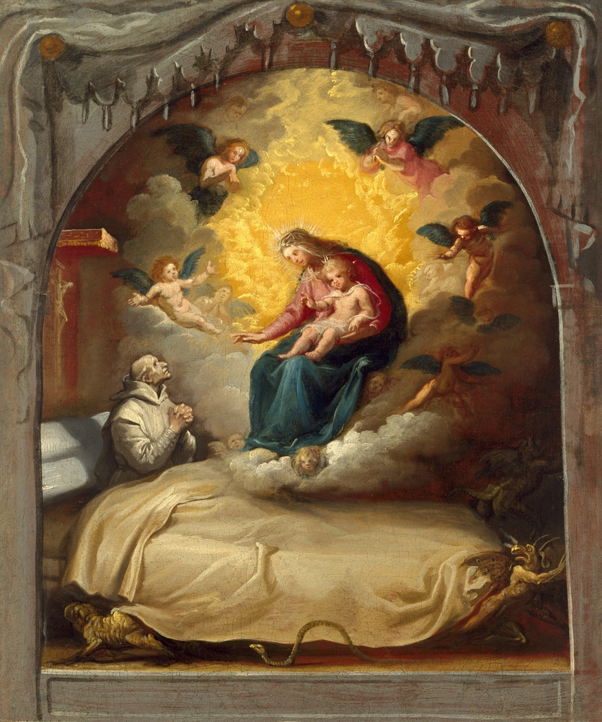 The Apparition of the Virgin to the Dying Pedro Faverio