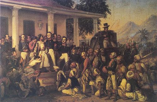 The Arrest of Pangeran Diponegoro