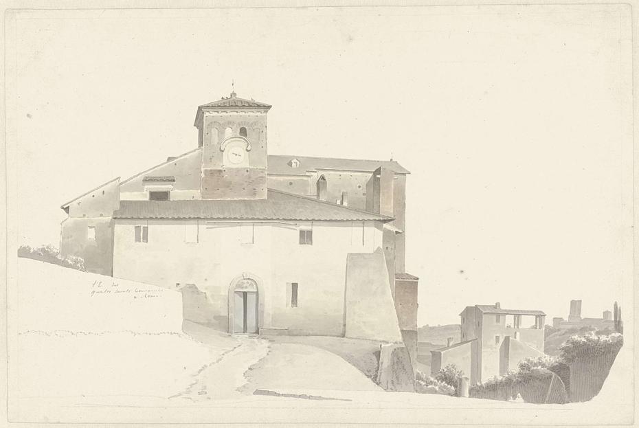 The Basilica of the Santi Quattro Coronati in Rome