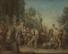 The Departure of Dido and Aeneas for the Hunt
