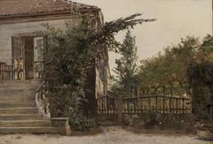 The Garden Steps Leading to the Artist's Studio on Blegdammen