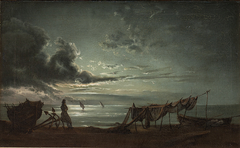 The Gulf of Naples. Moonlight