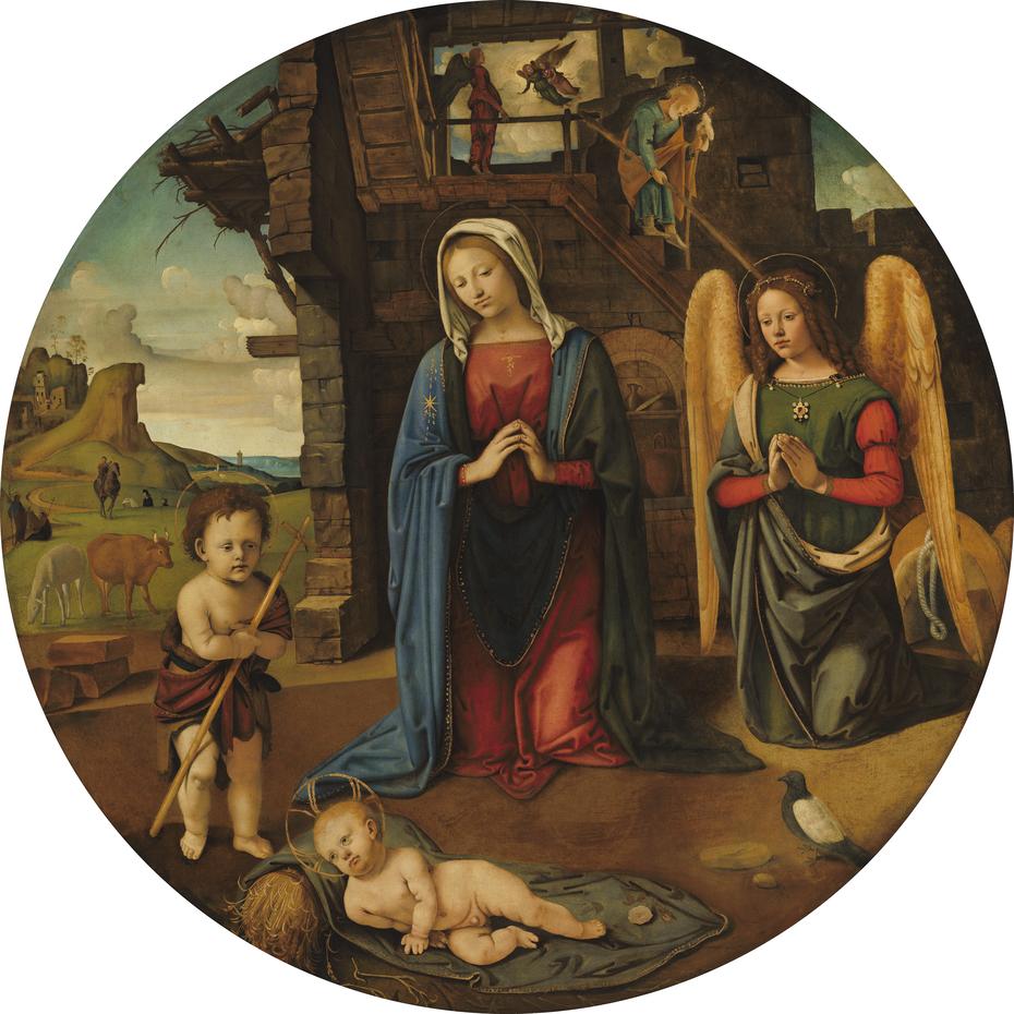 The Nativity with the Infant Saint John