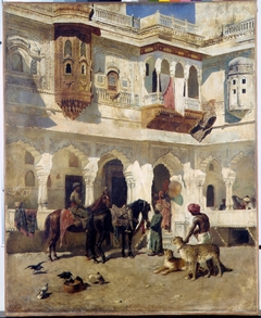 The Rajah Starting on a Hunt