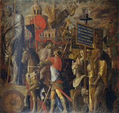 The Triumphs of Caesar: 2. The Bearers of Standards and Siege Equipment