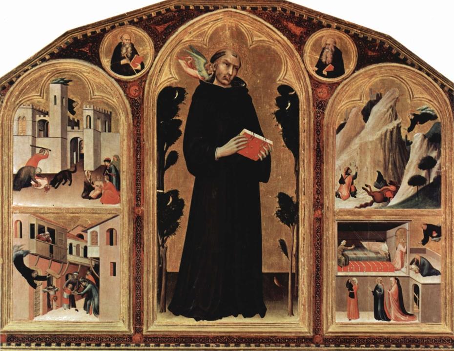 Triptych of Saint Augustine