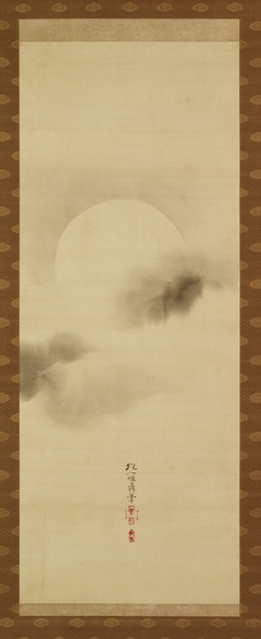 Triptych of the Seasons: Moon Among Clouds
