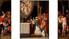 Triptych with the Mass of Saint Gregory