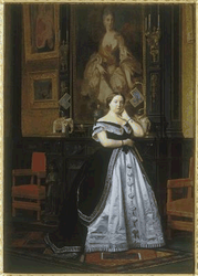 Portrait of Baroness Nathaniel de Rothschild