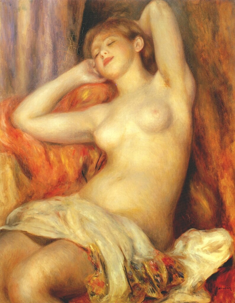 Sleeping woman (Gabriëlle Renard)