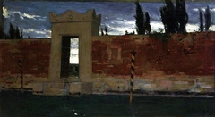 Cemetery in Venice