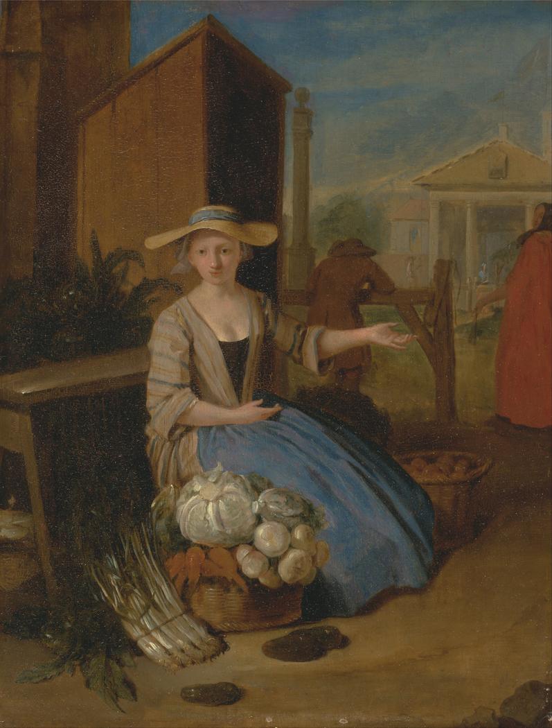 Vegetable Seller, Covent Garden