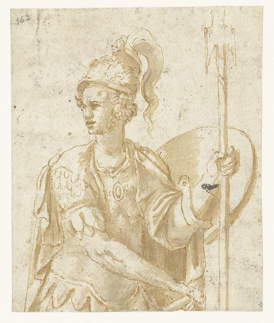 Veldheer in antieke dracht