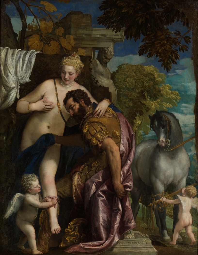 Venus and Mars United by Love