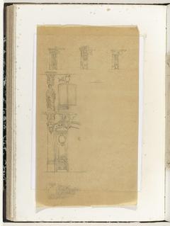 Vier portieken en een detail