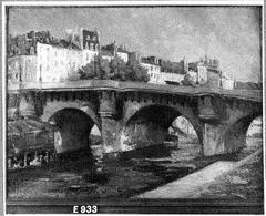 View of the Pont-Neuf and the Quai des Orfèvres, Paris