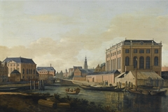 View of the Two Synagogues of Amsterdam