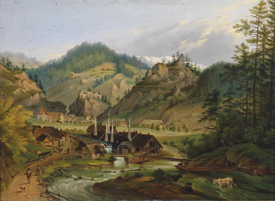 View of Thörl, Styria