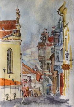 Vilnius, Pilies street