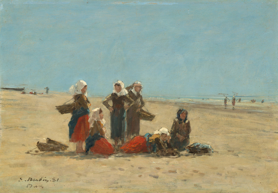 Women on the Beach at Berck