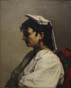 Young Woman in a Costume from Capri